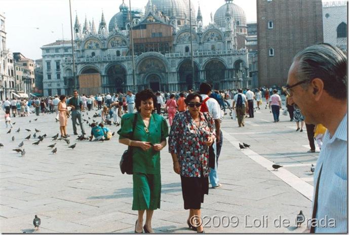Loli y Mari Amparo Venecia 88