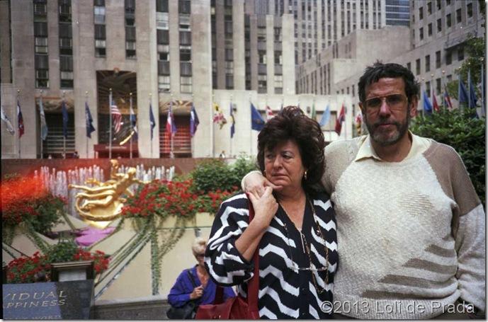 Nueva York - Loli y Joaquin 1986
