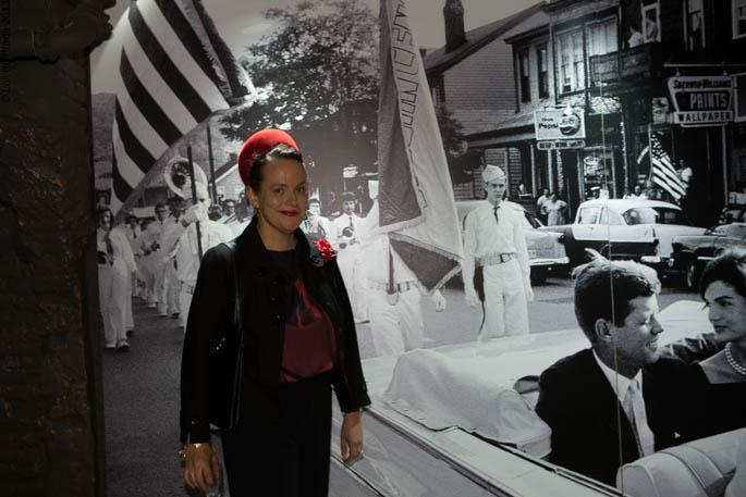 """Cristina de Prada en la exposición de Loewe """"The Kennedys"""""""